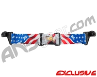 KM Paintball EVS Goggle Strap - SE Murica