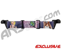 KM Paintball EVS Goggle Strap - SE Pop Art
