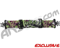 KM Paintball Grill Goggle Strap - Limited Edition Joker Lime