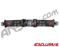 KM Paintball Grill Goggle Strap - Limited Edition The King