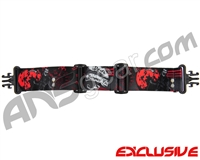 KM Paintball Grill Goggle Strap - SE Death Becomes You