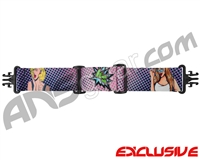 KM Paintball Grill Goggle Strap - SE Pop Art