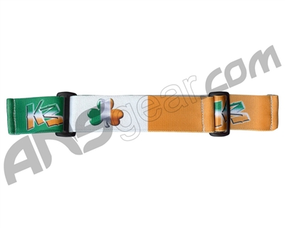 KM Paintball Universal JT Goggle Strap - Irish Flag