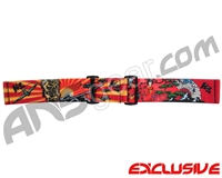 KM Paintball Goggle Strap - Limited Edition Kamikaze