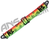 KM Paintball Push Unite Goggle Strap - 420 Rasta