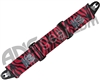 KM Paintball Push Unite Goggle Strap - Tiger Blood