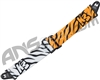KM Paintball Push Unite Goggle Strap - Tiger White/Orange