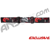 KM Paintball Goggle Strap - SE Death Becomes You