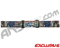 KM Paintball Goggle Strap - SE Mohave