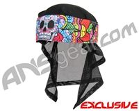 KM Paintball Headwrap - Sugar Skull