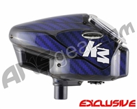 KM Halo Too Loader Wrap - Carbon Fiber Blue