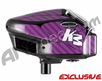 KM Halo Too Loader Wrap - Carbon Fiber Purple