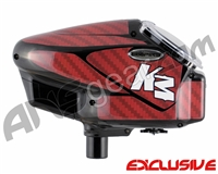 KM Halo Too Loader Wrap - Carbon Fiber Red