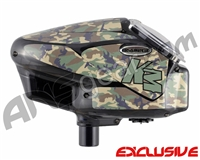 KM Halo Too Loader Wrap - Woodland Camo