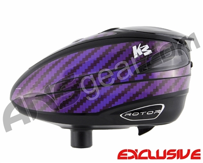 KM Rotor Loader Wrap - Carbon Purple