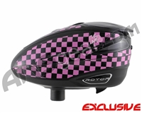 KM Rotor Loader Wrap - KM Checkers Pink