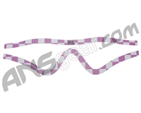 KM Paintball Mask Wraps - Profit Lens - Pink Checkers