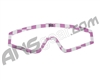 KM Paintball Mask Wraps - Spectra Lens - Pink Checkers