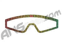 KM Paintball Mask Wraps - Spectra Lens - All Over Rasta