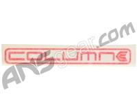 KM Column Sticker - Red