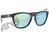 KM Paintball Sunglasses - Black w/ Mirror Lenses