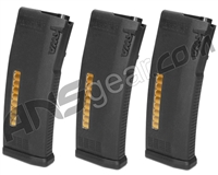 KWA MS120C Adjustable ERG/AEG 2.5/AEG 3 Mid-Cap Magazine - 3-Pack