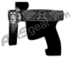 Laser Engraved Gun Design - The King