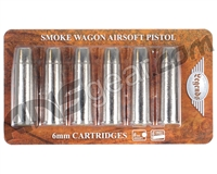 Legends Smoke Wagon CO2 Airsoft Cartridges (6 Pack) (#2275801)