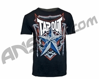 Tapout T-Shirt Pat Barry Shield of Honor - Black