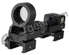 "NcStar Tactical Reflex Sight 1x25 R/G Dot Sight w/ 3/8"" Dovetail/Weaver Mount - Black (53023)"