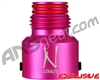 Ninja Tank Regulator Bonnet - Aluminum (Ball Valve) - Dust Pink