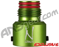 Ninja Tank Regulator Bonnet - Aluminum (Ball Valve) - Sour Apple