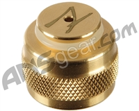 Ninja Tank Regulator Thread Protector - Anniversary Edition Brass