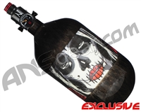 Ninja Lite Carbon Fiber Air Tank - 68/4500 w/ Adjustable Regulator - SE Dia De Los Muertos