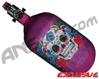 Ninja Lite Carbon Fiber Air Tank - 68/4500 w/ Adjustable Regulator - SE Sugar Skull