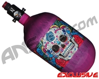 Ninja Lite Carbon Fiber Air Tank - 68/4500 w/ Ultralite Regulator - SE Sugar Skull