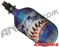 Ninja Lite Carbon Fiber Air Tank - 68/4500 w/ Adjustable Regulator - SE Warhawk Arctic (Camo)