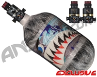 Ninja Lite Carbon Fiber Air Tank - 68/4500 w/ Pro V2 Series Regulator - SE Warhawk Arctic (Grey)