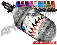 Ninja Lite Carbon Fiber Air Tank - 68/4500 w/ Pro V2 Ultralite Regulator - SE Warhawk Grey