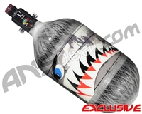 Ninja Lite Carbon Fiber Air Tank - 68/4500 w/ Ultralite Regulator - SE Warhawk Grey
