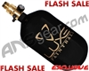 Ninja SL2 Carbon Fiber Air Tank - 68/4500 w/ (SLX) All Brass Pro V2 Regulator - SE Luxe Paintball