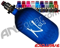 Ninja SL2 Carbon Fiber Air Tank - 68/4500 w/ Pro V2 Ultralite Regulator - Blue