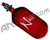 Ninja SL2 Carbon Fiber Air Tank - 77/4500 w/ Adjustable Regulator - Red
