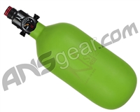 Ninja SL2 Carbon Fiber Air Tank - 45/4500 w/ Adjustable Regulator - Lime (Cerakote Finish)