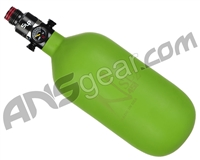 Ninja SL2 Carbon Fiber Air Tank - 45/4500 w/ Pro V2 SLP Regulator - Lime (Cerakote Finish)