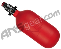 Ninja SL2 Carbon Fiber Air Tank - 45/4500 w/ Pro V2 Regulator - Red (Cerakote Finish)