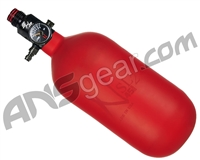 Ninja SL2 Carbon Fiber Air Tank - 45/4500 w/ Pro V2 SHP Regulator - Red (Cerakote Finish)