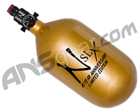 Ninja SLX Carbon Fiber Air Tank - 68/4500 w/ Adjustable Regulator - 10th Anniversary Gold