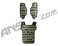 "NXe Extraktion ""Flank"" Light Paintball Vest - Camo"
