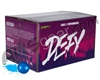 D3FY Sports Level 1 Practice 500 Round Paintballs - Blue Shell Blue Fill ( .68 Caliber )